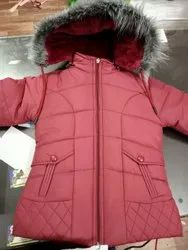 5 Color Available Full Sleeve Girls Kids Jackets