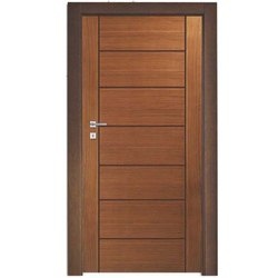 Designer Teak Wood Door, Size: 6 Feet