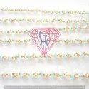 Aquamarine Rosary Chain