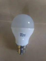 Cool Daylight Aluminium 7 Watt Dob LED Bulb, For Indoor