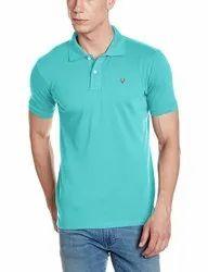 Half Sleeve Mint Allen Solly Men T Shirt