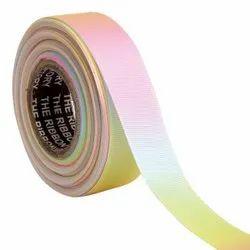 Gross Grain Ombre - Pink, Blue, Yellow Ribbons 25mm/1''inch Gross Grain Ribbon 20mtr Length