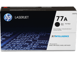 HP 77X Black Laserjet Toner Cartridge