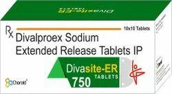 Divalproex 750 mg Extended Release Tablets (Divasite-ER 750)
