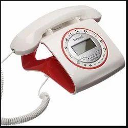 Beetel M73 Stylish Retro Design Telephone