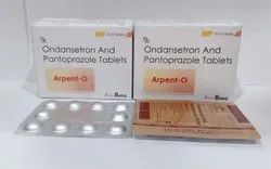 Pantoprazole 40mg & Ondansetron 4mg Tablets For Hospitals,Nursing Homes Doctors