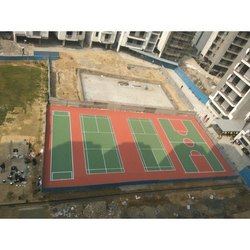 Badminton Court Synthetic Flooring