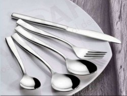 12 Silver JK Inox Cup Roll Cutlery JKC009, For Restaurant, Size: Standard