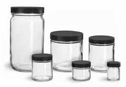 Plain Glass Jars