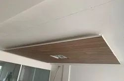 Coated Brown Wood Ceiling Panel, Thickness: 1.2 mm