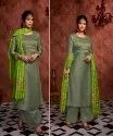 India Attiers Female Stylish New Color Heavy Embroidery Designer Salwar Suit, Machine Wash