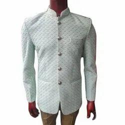 Wedding White Mens Jodhpuri Suit, Size: 32 - 44