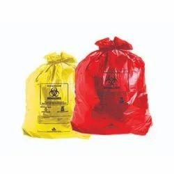 Bio-Hazard And Hospital Garbage Bag Pack Of 25 Bags