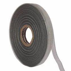 Lurex - Silver Stripe Edge Ribbons 12mm/ 20mtr Length