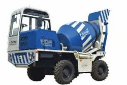 Diesel Engine Self Loading Concrete Mixer