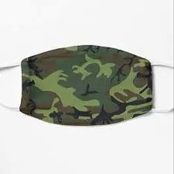 Non woven Reusable N95 Face Mask Army Pattern, For Hospital, Size: 42x80