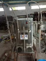 Semi-Automatic 2 Head Liquid Filling Machine