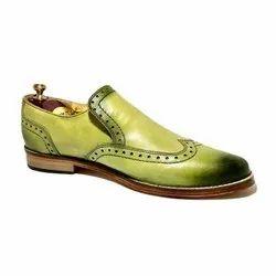 Men Light Green Shoes