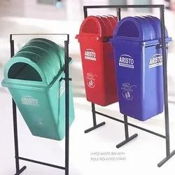 Outdoor Pole Hanging Dustbin