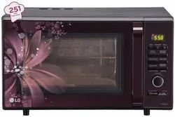 Capacity(Litre): 28L Black And Maroon LG MC2886BRUM Convection Microwave Oven