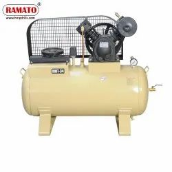 RMT-34A 3 HP 2 Piston Two Stage Air Compressor With 200 LTR Tank
