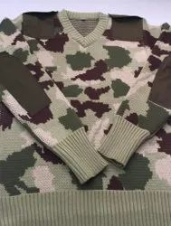 Camouflage Army Pullover