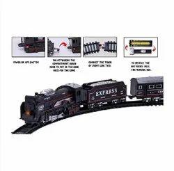 Black Train Toy Set for Kids