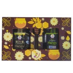 Diwali Health Gift Pack Forest Honey, 350g & Organic Honey, 350g