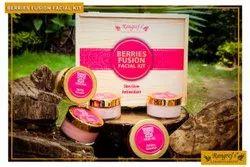 Rangrej's Aromatherapy Berries Fusion Facial Kit For Skin Glow,Antioxidant (5 Steps x 50gm)
