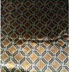 Micro Velvet Print Velvet Printed Sofa Cloth, For Upholstery