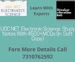 UGC NTA NET Electronic Science (Code-88) Study Notes (Study Material ) With 4500  Question Answer