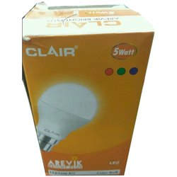 Incandascent Clair LED Bulb, Lighting Color: Cool White