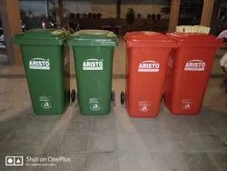 Aristo Wheeled Dustbin 240 Ltr .