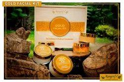 Rangrej's Aromatherapy Gold Facial Kit For Luminous & Radiant Complexion (5 Step x 50gm)