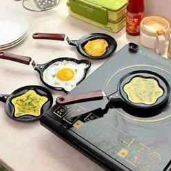 Angel Black Animal Print Mini Hot Pan, For Kitchen, Capacity: 14 Cms