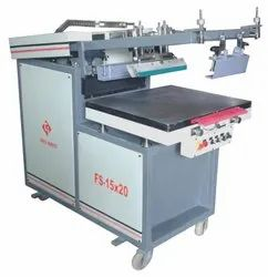 Clam Shell Flat Screen Printing Machine