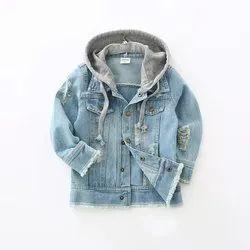 BE Hooded Jacket Boys Denim Jackets