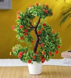 Artificial Plant With Flower
