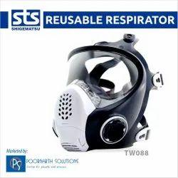 TW088 Full Face Reusable Respirator Mask
