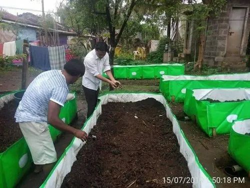 HDPE Vermi Bed With Shed ( 12x4x2 ft)