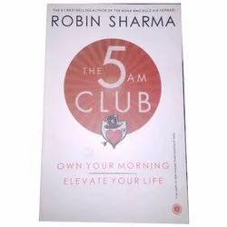 Fiction English The 5 Am Club Book, Robin Sharma