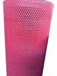 Pink PVC Floor Mat