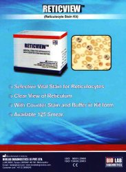 Reticview, For Clinical, Packaging Size: 125 Smears