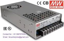 24VDC 18.8A Meanwell SMPS Power Supply