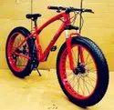 Prime Jaguar Red Fat Tyre Cycle