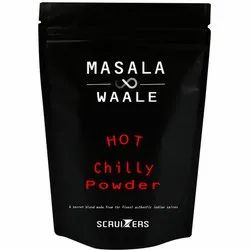 Masala Waale Chilli Hot Chilly Powder, Packaging Size: 500 g