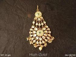 Kundan Hair Accessory Jewellery