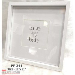 Box Square Wooden Photo Frame
