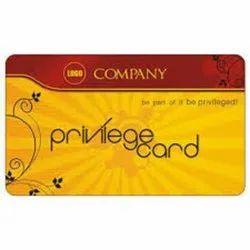 Multicolor Pvc Privilege Card, Size: 85 X 54 Mm