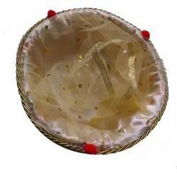 Brown Wooden Fruits Basket